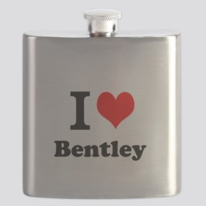 I Love Bentley Flask