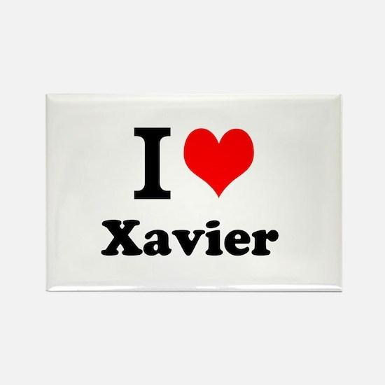 I Love Xavier Magnets