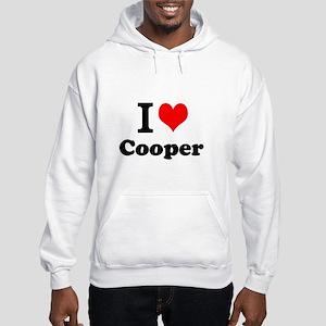 I Love Cooper Hoodie