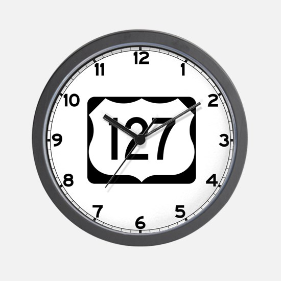 US Route 127 Wall Clock