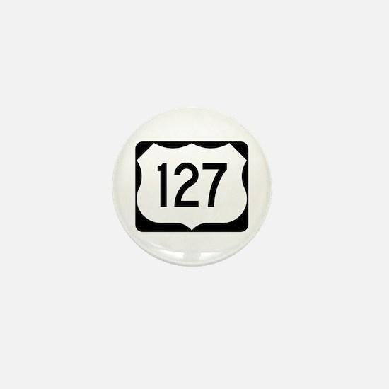 US Route 127 Mini Button