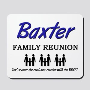 Baxter Family Reunion Mousepad