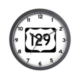 Highway 129 Wall Clocks