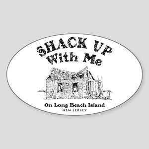 Shack Up LBI Oval Sticker