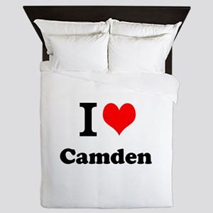 I Love Camden Queen Duvet