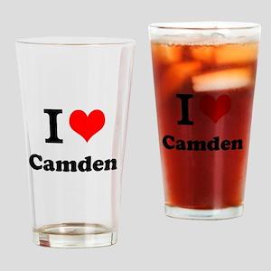 I Love Camden Drinking Glass