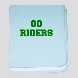 Riders-Fre dgreen baby blanket