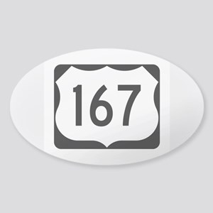 US Route 167 Sticker (Oval)