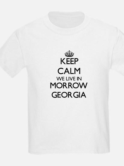 Keep calm we live in Morrow Georgia T-Shirt