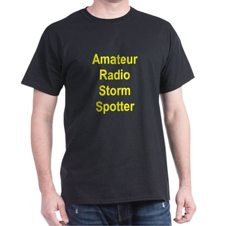 Amateur Radio Storm Spotter Dark T-Shirt