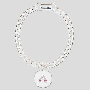 TOASTING CHAMPANGE GLASSES Bracelet