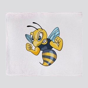 YELLOW JACKET HORNET Throw Blanket