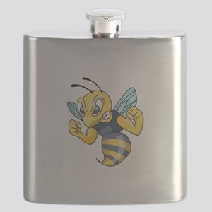 YELLOW JACKET HORNET Flask