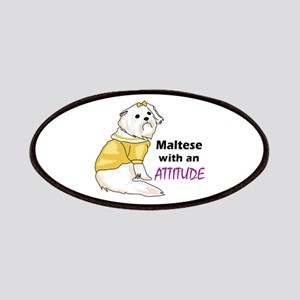 MALTESE WITH ATTITUDE Patch