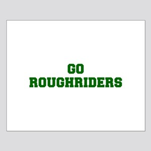 Roughriders-Fre dgreen Posters