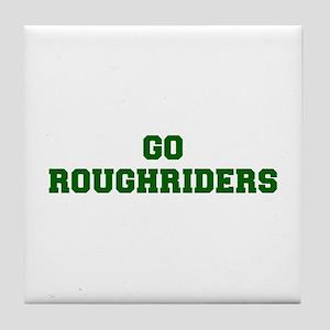 Roughriders-Fre dgreen Tile Coaster
