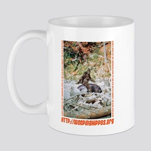 Weeping Hippo Mug