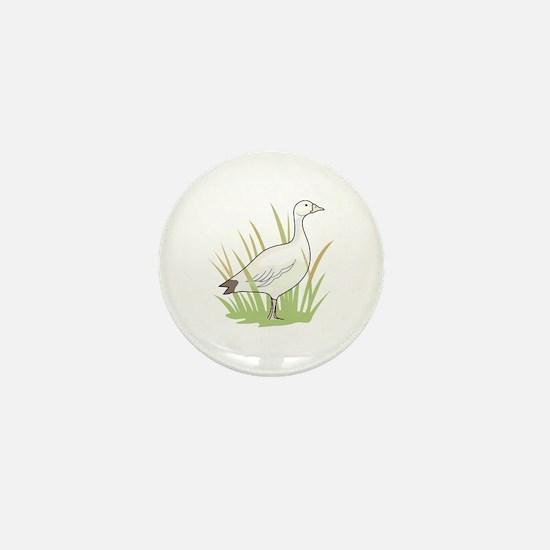 SNOW GOOSE Mini Button