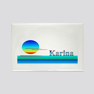 Karina Rectangle Magnet