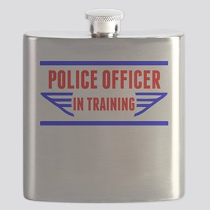 Police Officer In Training Flask