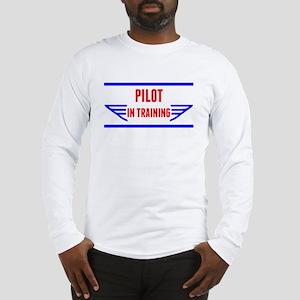 Pilot In Training Long Sleeve T-Shirt