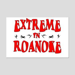 Extreme Roanoke Mini Poster Print