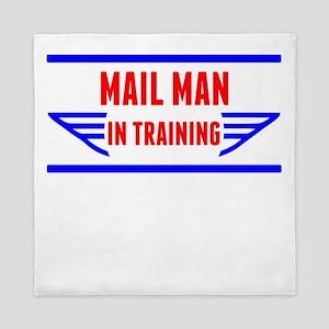 Mail Man In Training Queen Duvet