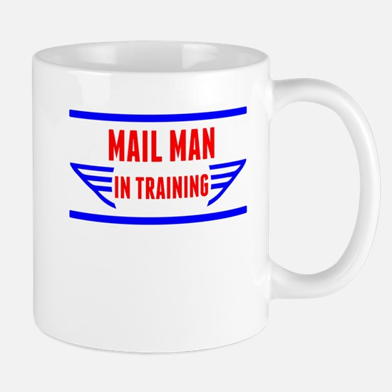 Mail Man In Training Mugs