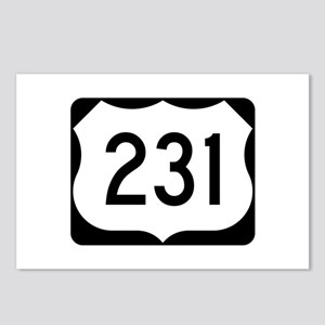 US Route 231 Postcards (Package of 8)