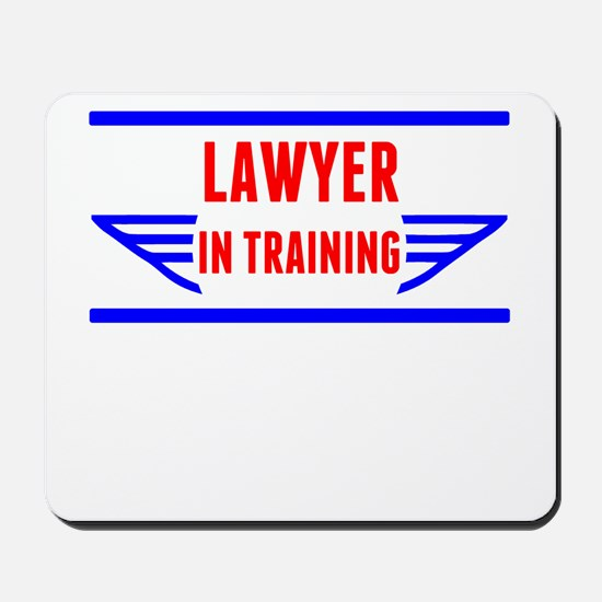 Lawyer In Training Mousepad