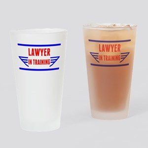 Lawyer In Training Drinking Glass