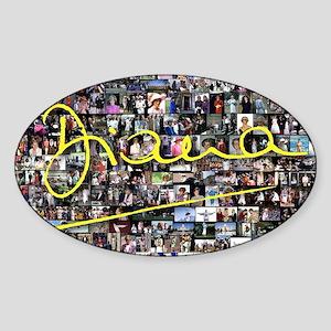 Perfect! Princess Diana Sticker (Oval)