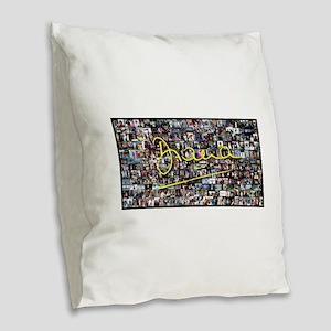Perfect! Princess Diana Burlap Throw Pillow