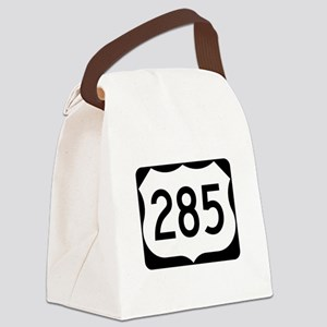 US Route 285 Canvas Lunch Bag
