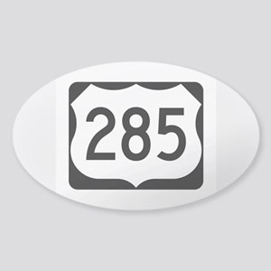US Route 285 Sticker (Oval)