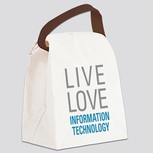 Information Technology Canvas Lunch Bag