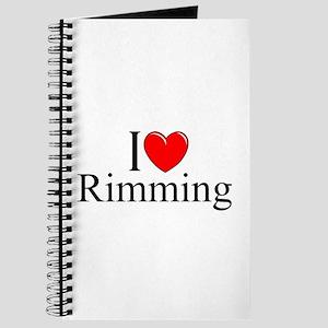 """""""I Love (Heart) Rimming"""" Journal"""