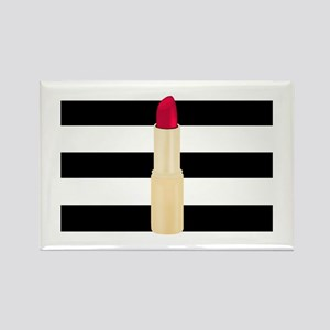 Red Lipstick Strioes Magnets
