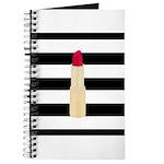 Red Lipstick Strioes Journal