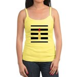 Red Lipstick Strioes Tank Top
