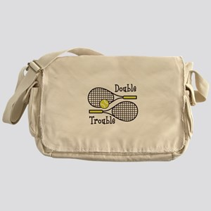 DOUBLE TROUBLE Messenger Bag