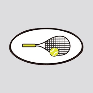 TENNIS RACQUET & BALL Patch