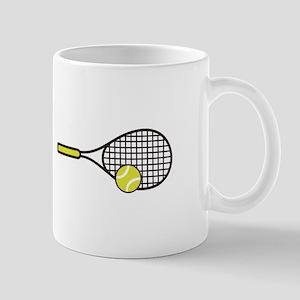 TENNIS RACQUET & BALL Mugs