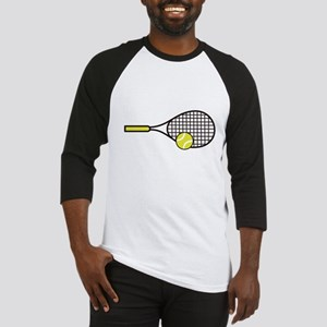 TENNIS RACQUET & BALL Baseball Jersey
