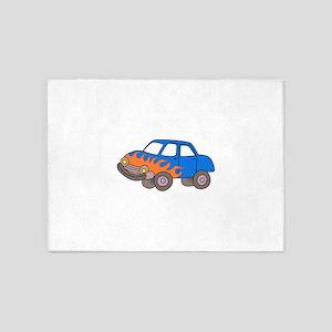 KIDS RACING CAR 5'x7'Area Rug