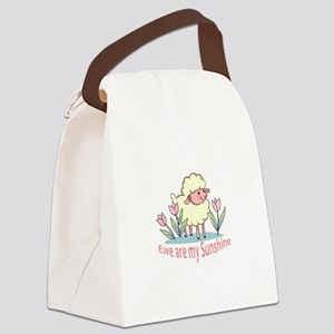 EWE ARE MY SUNSHINE Canvas Lunch Bag