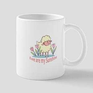 EWE ARE MY SUNSHINE Mugs