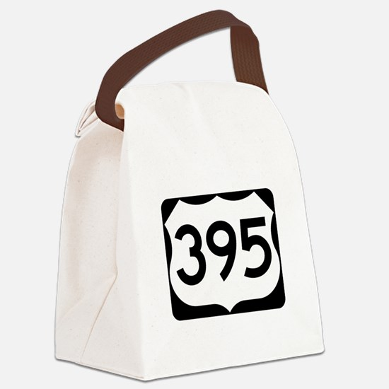 US Route 395 Canvas Lunch Bag