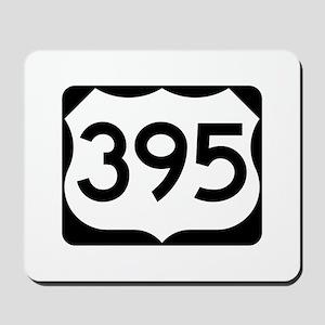 US Route 395 Mousepad