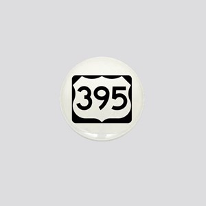 US Route 395 Mini Button